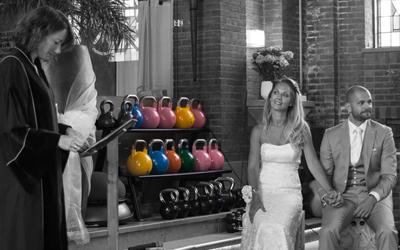 Trouwen in de fitnesskerk