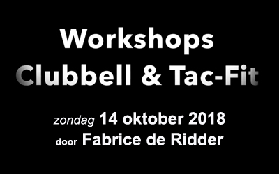 workshops Clubbell en TAC-FIT door Fabrice de Ridder bij Funktional Fitness