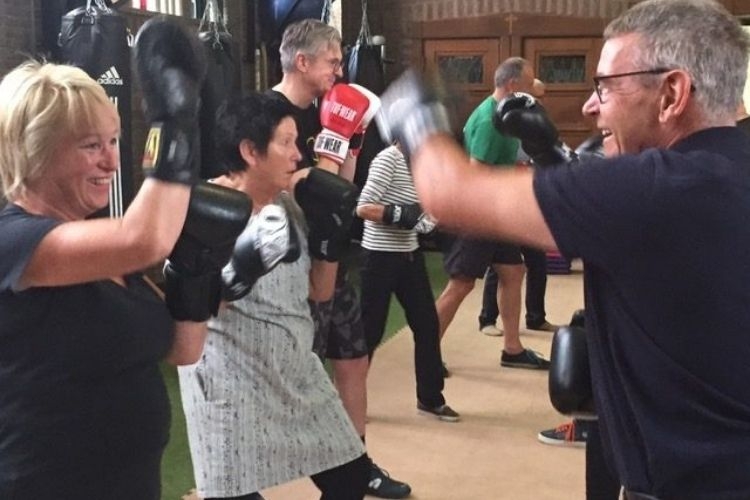 Funktional Fitness, workout, Parkinson BoXing