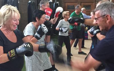 Sparking Boxing, boksen voor mensen met Parkinson!